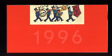 TINTIN - HERGE Greeting Card 1996 Etude for the station metro Stockel