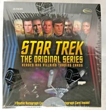 STAR TREK Original Series Heroes & Villains  Rittenhouse Sealed Trading Card BOX