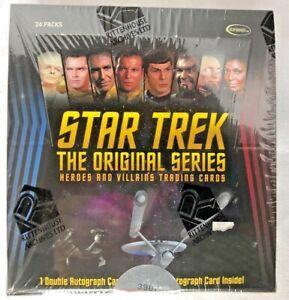 STAR TREK Original Series Heroes & Villains  Rittenhouse Sealed Trading Card BOX