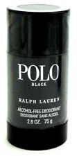 Polo Black by Ralph Lauren Deodorant Stick Alcohol Free 2.6 oz./75 g. Sealed.