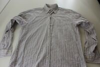 Brooks Brothers Red Blue Check LONG SLEEVE SHIRT Medium M 15.5 x 35/36