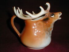 Royal Bayreuth Bavaria Germany MOOSE/ELK Creamer/Cream Pitcher 1902