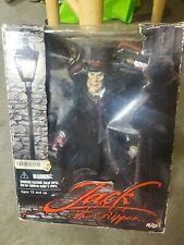 "NIB 2004 Mezco Toyz JACK RIPPER Deluxe Maniac Killer 9"" Action Figure Top Hat"