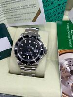 Rolex Submariner 16610 Black Dial Stainless Steel Complete Plus Service Paper