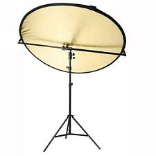 Boom Arm Light Stand Reflector Kit 200cm Holder 360 Rotate Photography Studio UK
