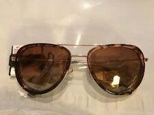 3362ac323d Dana Buchman Brown Tortois Sunglasses Plastic Women s 100% UVA Protection  NWT
