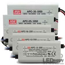 Alimentatore LED Driver Mean Well in Corrente Costante APC 8W / 16W / 25W / 35W
