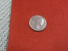 """1463. Thin Wale RUST COTTON CORDUROY Apparel or Craft Fabric - 44"""" x 1 3/4 Yds."""
