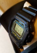 Casio G Shock DW 5300 Limited Edition Gold Japan Collectors Watch Very Rare!...