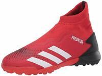 adidas Men's Predator 20.3 Turf Soccer Shoe, Black, Size 8.5 qAcy