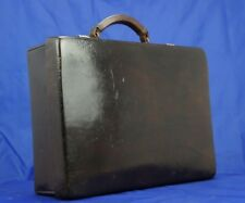 Quality English Norfolk Hide Leather Attache Briefcase