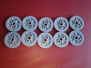 K'nex Classic medium size 10 wheel pulleys