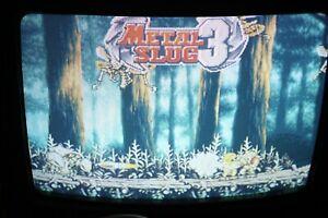 Metal Slug 3 Neo Geo MVS SNK  Authentic Please Read