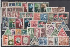 LATVIA SELECTION OF 50 stamps MLH