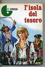 Robert L. Stevenson # L'ISOLA DEL TESORO # Malipiero 1969