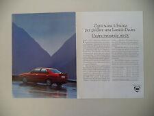 advertising Pubblicità 1991 LANCIA DEDRA INTEGRALE
