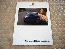PORSCHE 911 CARRERA CABRIOLET C4 C4S TARGA INTRODUCTORY SALES BROCHURE 2002