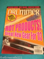 MODERN DRUMMER - HOT PRODUCTS - JUNE 2003