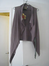 Vintage rare stylish so Zucca waist coat w brooch from Japan