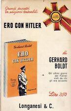 GERHARD BOLDT ERO CON HITLER LONGANESI