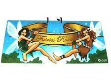 'FAIRIES ROOM' PV Room/Wall/Door Sign Fairy/Pixie