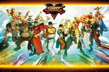 STREET FIGHTER V - NEW POSTER Streetfighter Rolled Poster 24x36