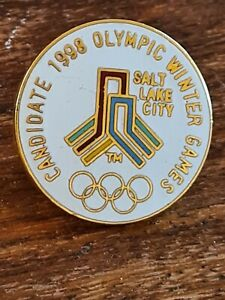 Rare bid pin - Candidate 1998 Olympic Winter Games