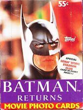 2 BOX LOT 1992 TOPPS BATMAN RETURNS