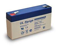 Battery 6V 1.3Ah F1 Pb Ultracell