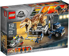 Lego Jurassic World Fallen Kingdom 75933 T. Rex Transport - Brand New