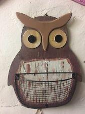 Owl Wall Hanger, Noah the Owl Wall Storage, Large, kitchen, menus, bills etc