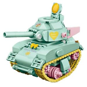 LOZ MINI Green Tank Model  Blocks Building Toys Girls Puzzle Gift 4101(no box)