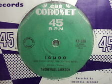 "Stonewall Jackson ""Igmoo (The Pride of South Central High)"" Rare Oz 7"""