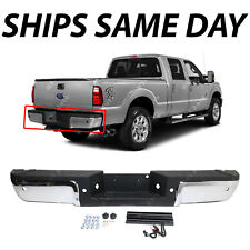 NEW Complete Chrome Steel Bumper for 2013-2016 Ford Super Duty F250 F350 W/ Park