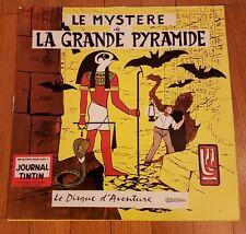 RARE EO E.P. JACOBS BLAKE & MORTIMER DISQUE : LE MYSTÈRE DE LA GRANDE PYRAMIDE