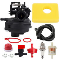 Carburetor For Troy-Bilt B110 TB110 TB200 12A-A2bB711 W/Air filter Fuel line Kit