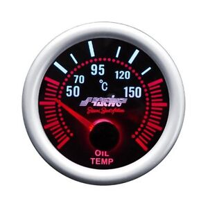 INDICATORE STRUMENTO MANOMETRO TEMPERATURA OLIO by SIMONI RACING OT/A 52mm
