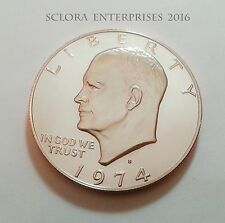 1974 S EISENHOWER *PROOF* DOLLAR COIN **FREE SHIPPING**
