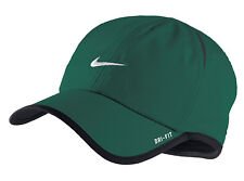 New Nike Feather Light Cap Hat Dri Fit Running Tennis  595510-346 Mystic Green