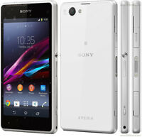 Unlocked Móvil Sony Ericsson Xperia Z1 Compact D5503 16GB 3G 4G Androide -Blanco