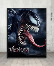 Venom Poster Teeth And Claws 3D Framed Lenticular 20x25cm