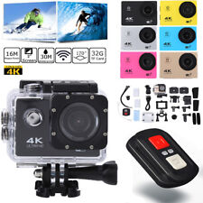 "4K SJ9000 HD 2.0"" WiFi 170° Sports Action Camera DV Cam Waterproof  Camcorder TP"