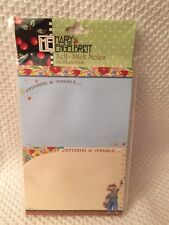 Cute Mary Engelbreit Self Stick Notes. 40 Sheets Each Anything is Possible