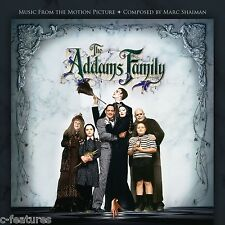 ADDAMS FAMILY (1991) Soundtrack MARC SHAIMAN + VIC MIZZY Score LTD EDITION New!