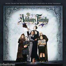 ADDAMS FAMILY (1991) Marc Shaiman CD Soundtrack Score LA-LA LAND Ltd Edition NEW