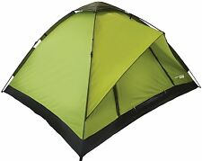 Yellowstone Rapid 4 Person Camping Quick Pitch Large Tent Umbrella Action