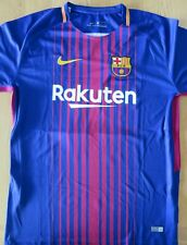Barcelona team jersey signed by ousmane dembele with certificate
