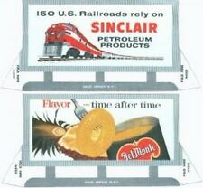 BILLBOARD CUTOUTS for American Flyer S Gauge Scale Trains Parts