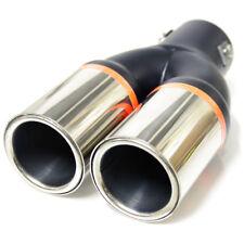 Double Exhaust Tip Trim Pipe For Citroen Xsara Xantia Saxo Berlingo Zx Crosser