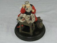 Vintage Norman Rockwell Saturday Evening Post Santa Clause with Letters Statue